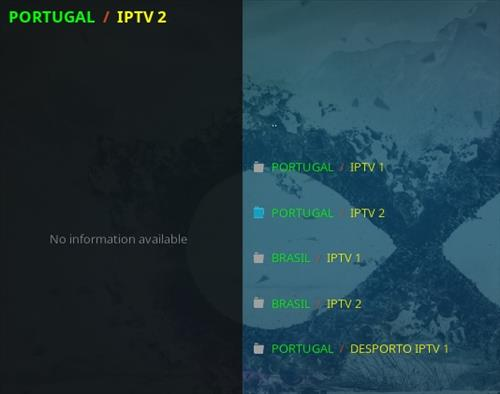 How To Install Infinity Kodi Addon Portugal Brazil IPTV Overview