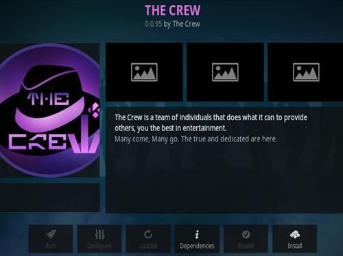 How To Install The Crew Kodi Addon V95 Step 12