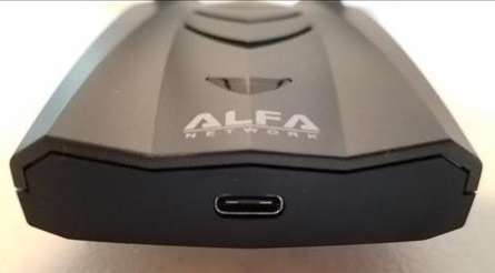 Review Alfa AWUS036ACH USB Adapter Type-C Version Port