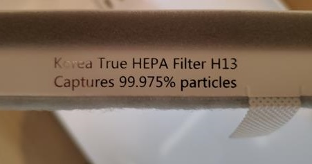 Review Levoit Vital 100 Air Purifier HEPA Filter