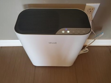 Review Levoit Vital 100 Air Purifier with True HEPA Filter 777