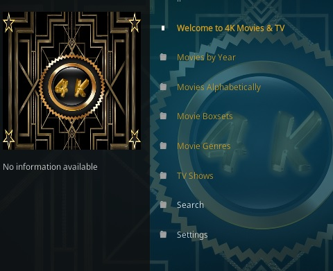 How To Install 4K Kodi Addon Overview