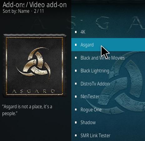 How To Install Asgard Kodi Addon Update 2021 Step 17
