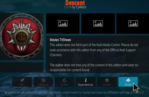 How To Install Descent Kodi Addon 2021 step 18