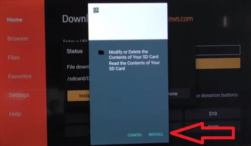How To Install Filelinked on a Fire TV Stick Step 13