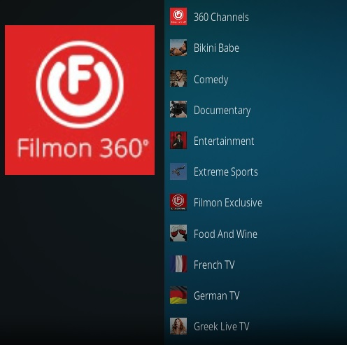 How To Install FilmOn 360 Kodi Addon 2021 Overview