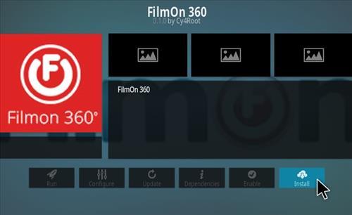How To Install FilmOn 360 Kodi Addon 2021 Step 18