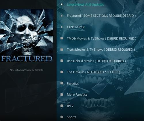 How To Install Fractured Kodi Addon Update Ver Overview