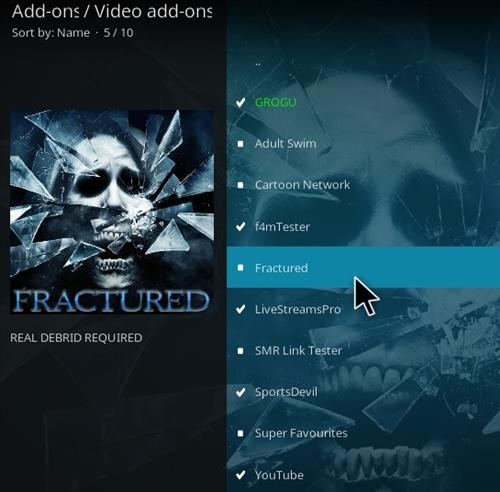 How To Install Fractured Kodi Addon Update Ver Step 17