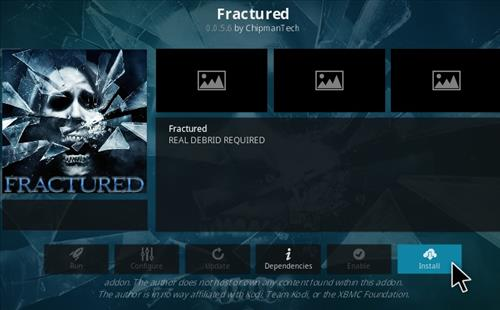 How To Install Fractured Kodi Addon Update Ver Step 18