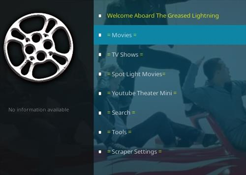 How To Install Grease Lighting Reborn Kodi Addon Overview