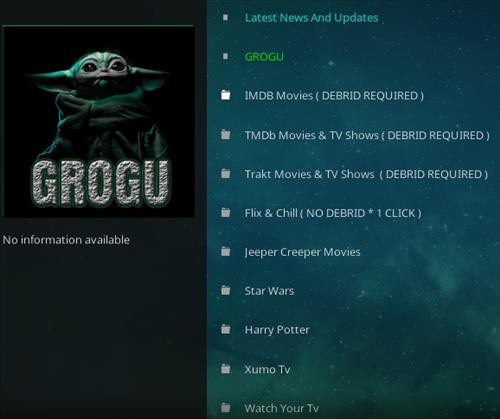 How To Install GroGu Kodi Addon Overview