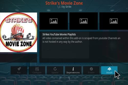 How To Install Strike's Movie Zone Kodi Addon 2021 Step 18