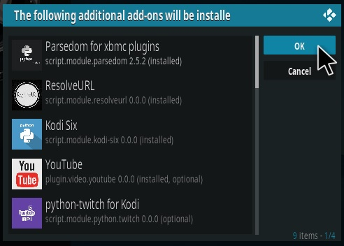 How To Install Subs Movies.Club Kodi Addon Step 19