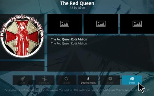 How To Install The Red Queen Kodi Addon 2021 Step 18