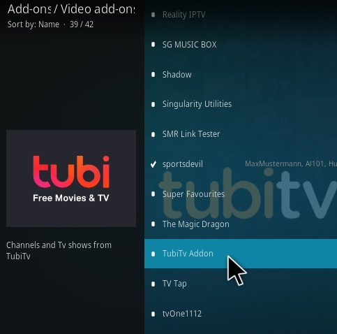 How To Install Tubi TV Kodi Addon Update Step 17