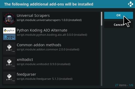 How To Install Xmas Fido Kodi Video Add-on Step 19