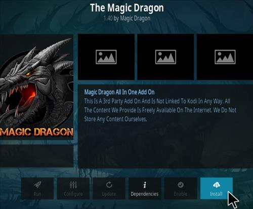 How to Install The Magic Dragon Kodi Add-on 2021 Update Step 18