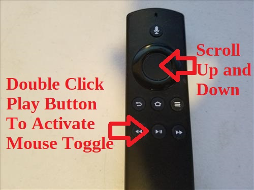 Mouse Toggle Contols
