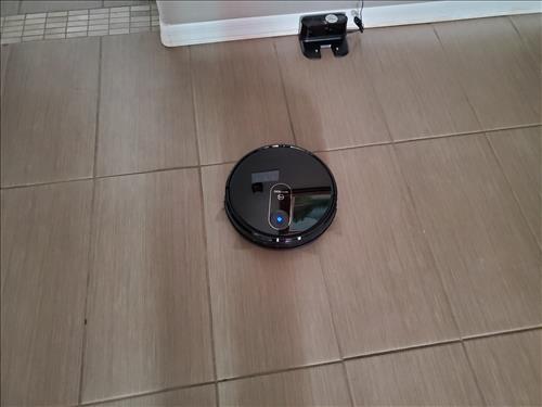 Review MOOSOO Robot Vacuum Cleaner MT720 Workging Test 1