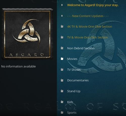 How To Install Asgard Kodi Addon 2021 Overview