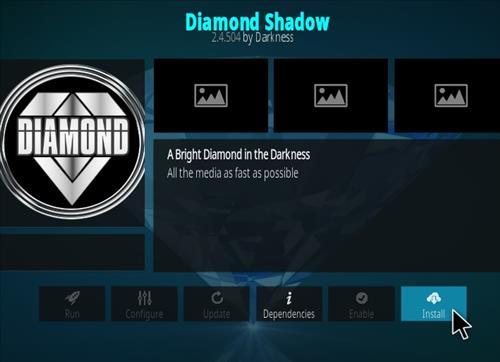 How To Install Diamond Kodi Addon New URL Step 19