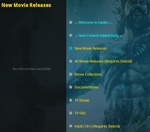 How To Install Hades Kodi Addon Overview