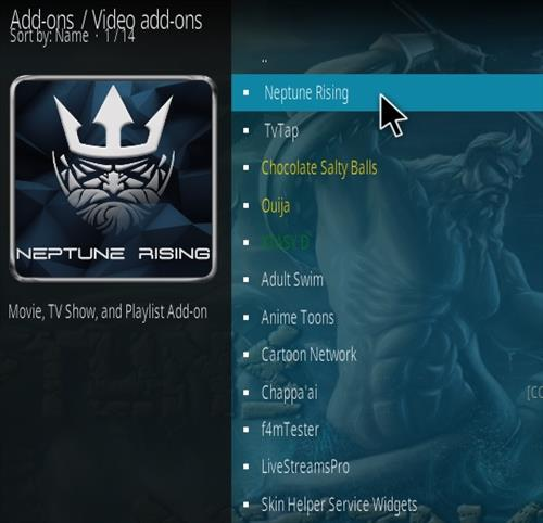 How To Install Neptune Rising Kodi Addon 2021 Step 17
