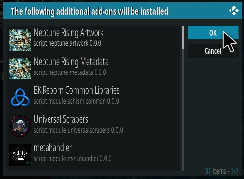How To Install Neptune Rising Kodi Addon 2021 Step 19