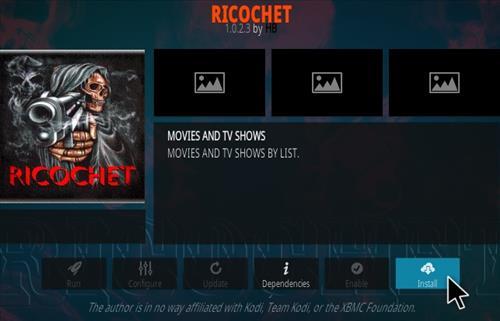 How To Install Ricochet Kodi Addon Step 18