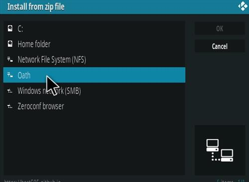 How To Install The Oath Kodi Addon Step 11