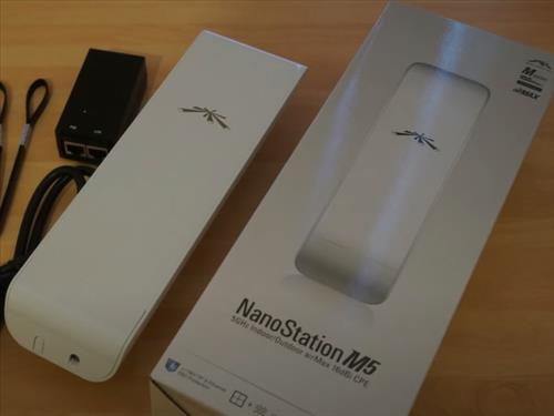 Best Outdoor WiFi Range Extenders Ubiquiti NanoStation M5 NSM5