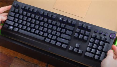 Best Wireless Mechanical Keyboards 2021 Razer BlackWidow V3 Pro 3