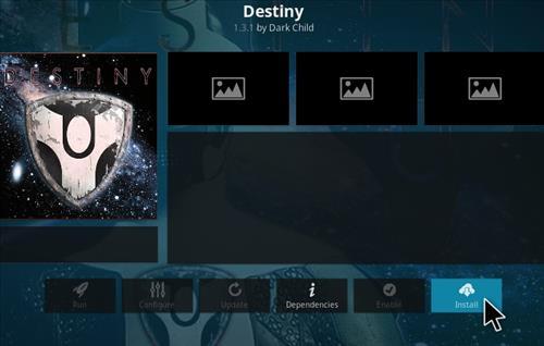 How To Install Destiny Kodi Addon 2021 Step 18