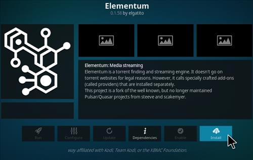 How To Install Elementum Kodi Addon 2021 Update Step 18