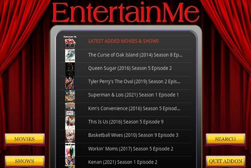 How To Install EnterTain Me Kodi Addon Overview