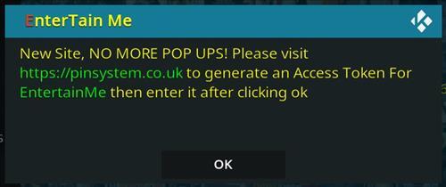 How To Install EnterTain Me Kodi Addon Pin System