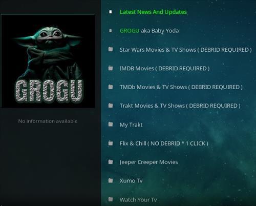 How To Install GroGu Kodi Addon 2021 Upate Overview