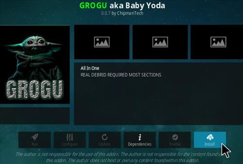 How To Install GroGu Kodi Addon 2021 Upate Step 18