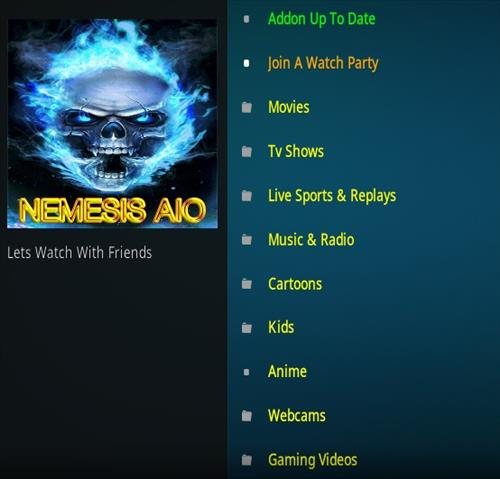How To Install Nemesis AIO Kodi Addon Ver 130002