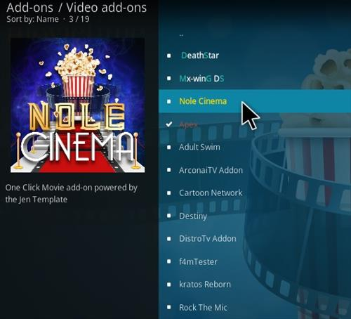 How To Install Nole Cinema Kodi Addon 2021 Step 17