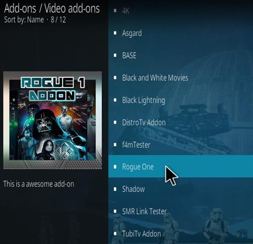 How To Install Rogue 1 Kodi Addon 2021 Step 17