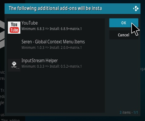 How To Install Seren Real Debrid Trakt Kodi Addon Step 18