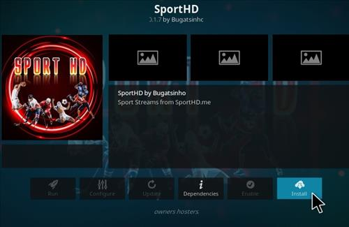 How To Install Sport HD Kodi Addon 2021 Step 18