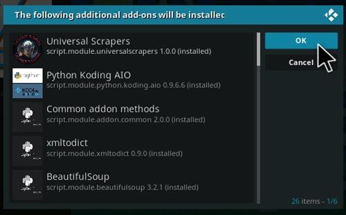 How To Install The End-Zone Kodi Addon 2021 Step 19