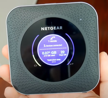 Best Travel Router WiFi Hotspot NETGEAR Nighthawk M1 Mobile Hotspot 4G LTE Router