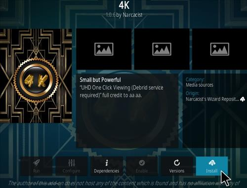 How To Install 4K Kodi Addon Real-Debrid Require Step 18
