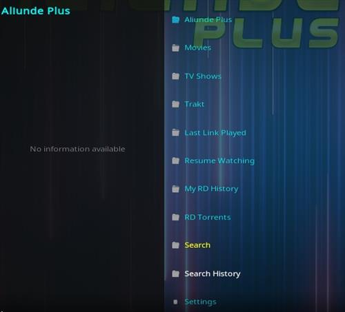 How To Install Aliunde Plus Kodi Add-on Overview