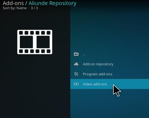 How To Install Aliunde Plus Kodi Add-on Step 16