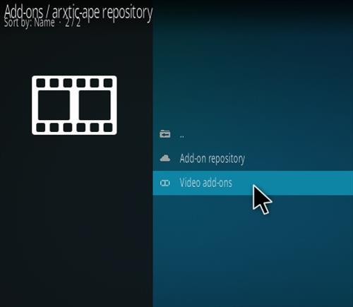How To Install ApeX Sports Kodi Addon Step 16